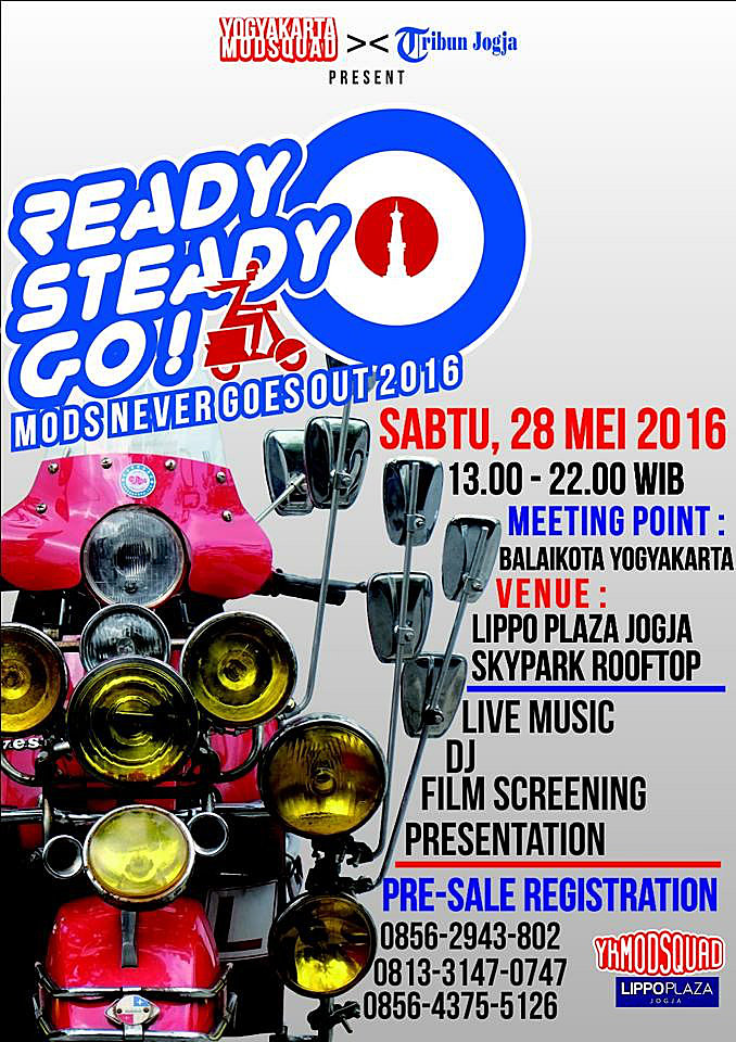 0528 Saturday Ready Steady Go! MODS NEVER GOES OUT 2016