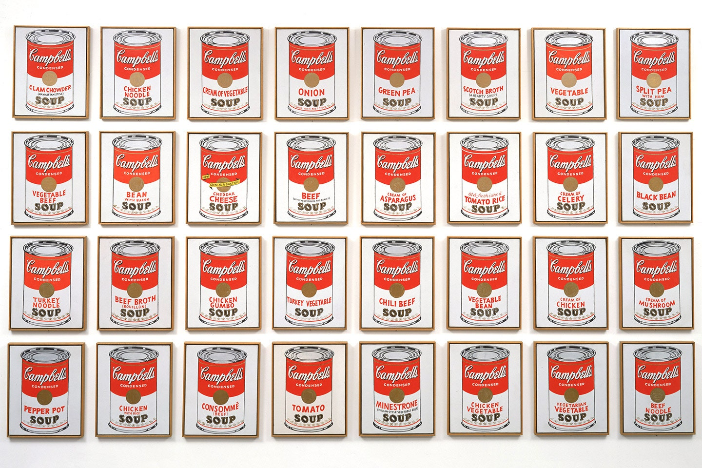 Andy Warhol|Campbell's Soup Cans|1962