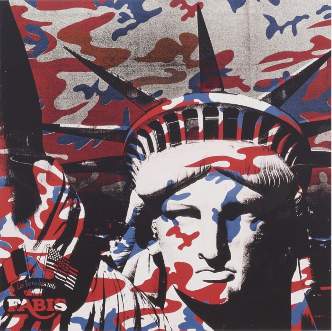 Andy Warhol|Statue of Liberty (Fabis)|1986|The Broad Museum (Los Angeles, USA)