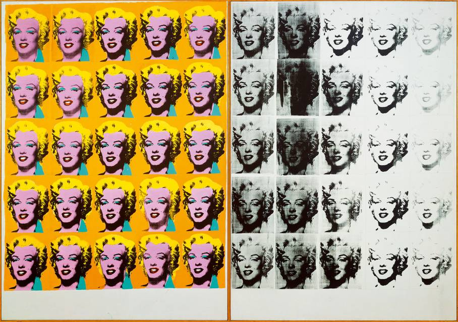 Andy Warhol|Marilyn Diptych|1962|Tate Purchased 1980|所有照片來源:2020 Tate Modern and The Andy Warhol Foundation for the Visual Arts, Inc.|Licensed by DACS, London